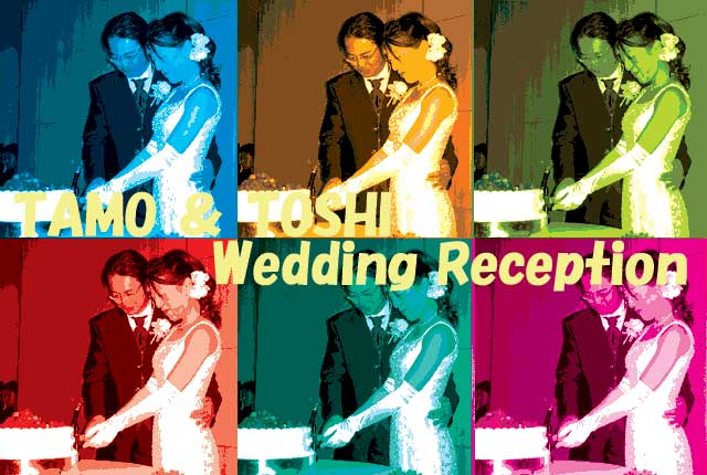 TAMO & TOSHI Wedding Reception